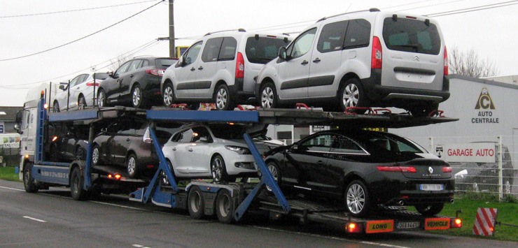 transport voiture par camion prix prix transports de voitures occasions neuves soci t bethus. Black Bedroom Furniture Sets. Home Design Ideas